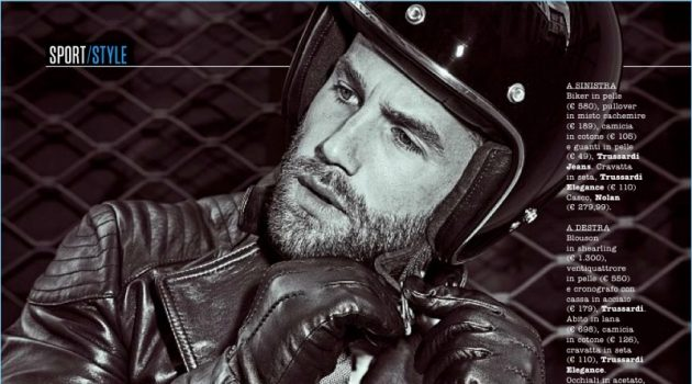 André Hamann Models Suits & Leather Jackets for SportWeek
