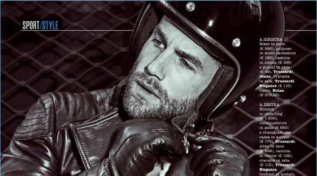 André Hamann Models Suits & Leather Jackets for SportWeek