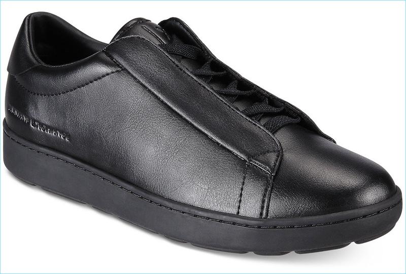 Armani Exchange Men's Hidden Lace Sneakers