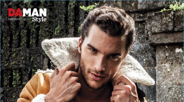 Aurelien Muller Travels to Bali for Da Man Style, Reflects on Modeling Career