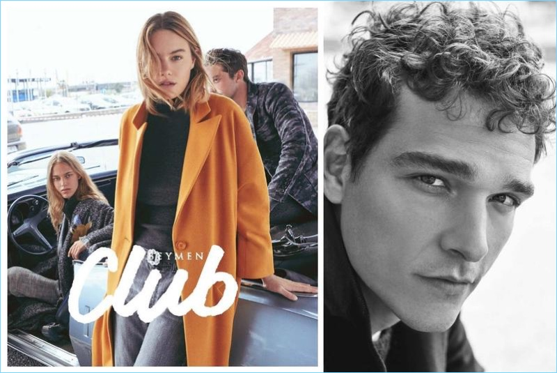 Alexandre Cunha appears in Beymen Club's fall-winter 2017 campaign.