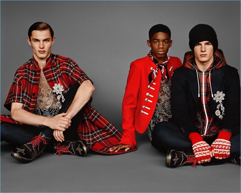 Burberry enlists Kit Butler, Montell Martin, and Tom Heyes for its fall-winter 2017 campaign.