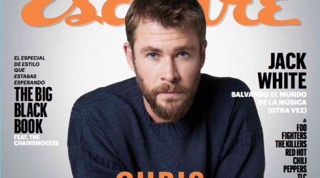 Chris Hemsworth Esquire Latin America October 2017 Cover