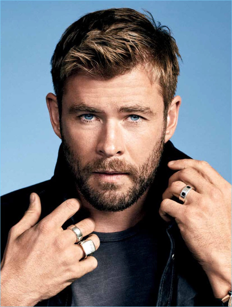 Chris Hemsworth Covers...