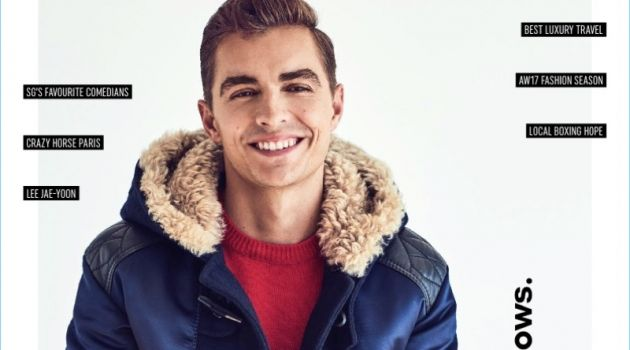 Dave Franco covers the October 2017 issue of August Man.