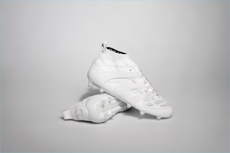 White Adidas x David Beckham capsule collection sneakers