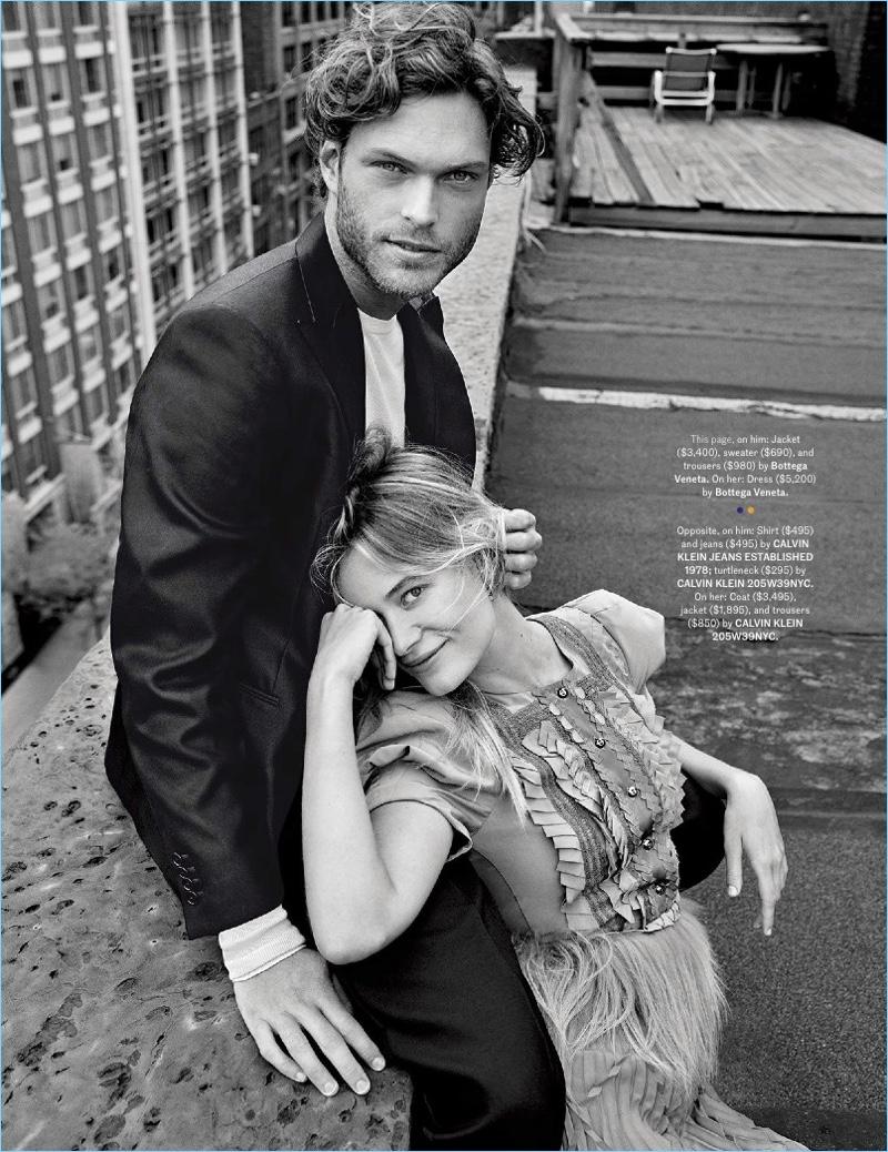 Conscious Coupling: Esquire Spotlights Model Couples