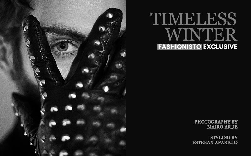 Fashionisto Exclusive: Felipe Orge photographed by Mairo Arde Felipe wears glove Mangano.