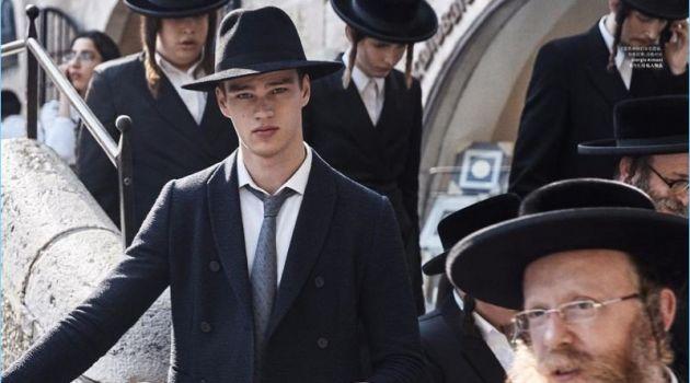 Filip Hrivnak Travels to Jerusalem for Esquire China
