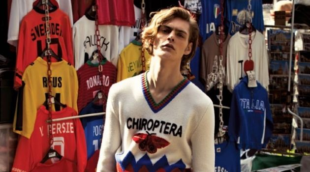 Creative Clash: GQ Brasil Spotlights Gucci