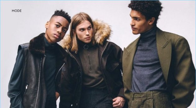Coarse & Strong: InStyle Men Germany Unveils a Stylish Fall