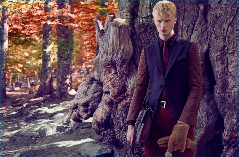 Daniel Kildevæld Models Mountain Style for Influencers Cover Story