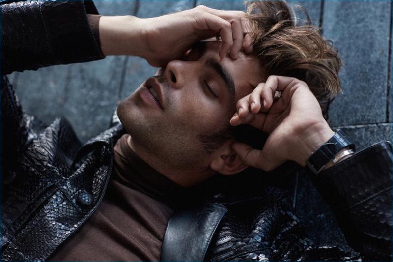 Jon Kortajarena stars in a new cover shoot for Glass magazine.