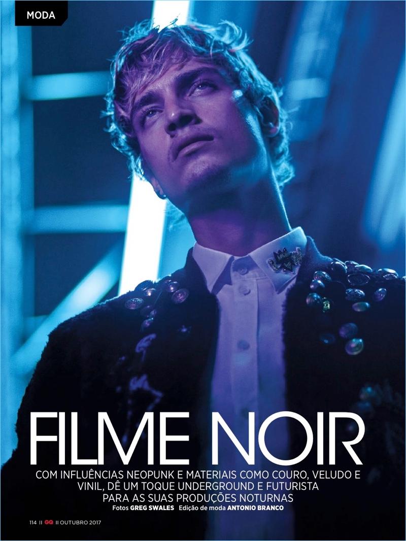 Filme Noir: Jonathan Bellini for GQ Brasil