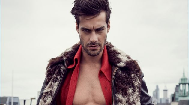 Gonçalo Teixeira, Jason Anthony & Hamish Quigley Step Into Fall with L'Officiel Hommes Ukraine