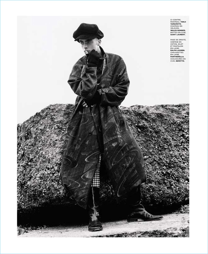 Top Lennon Gallagher Stars in Le Magazine du Monde Cover Shoot IM38