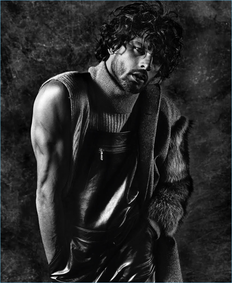 Marlon Teixeira Covers Prestige Hong Kong, Dons Fur & Leather