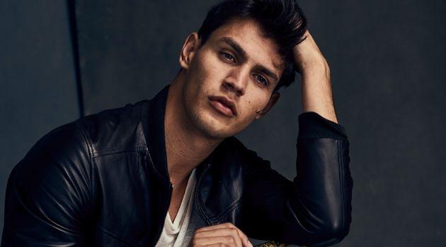 Mathew Rojas Rocks Leather Fashions for Modern Luxury