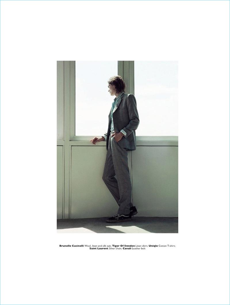 Greenhouse Effect: John Cleworth & Finn Matz for Men's Folio Singapore