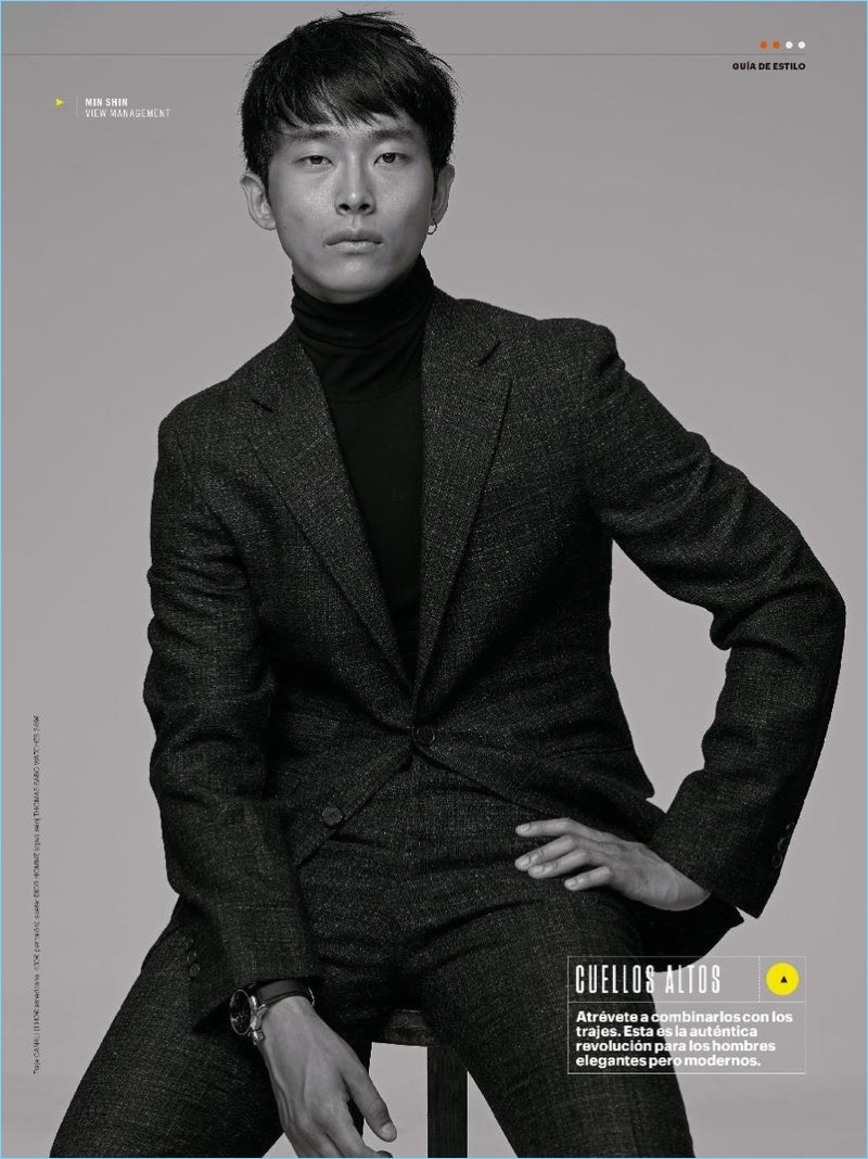Min Shin for Men's Health Spain