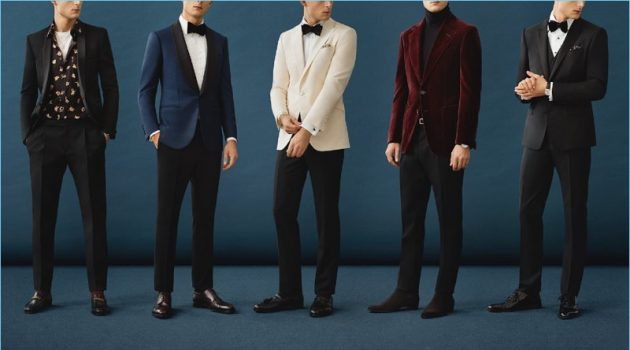 Mr Porter highlights men's black tie style.