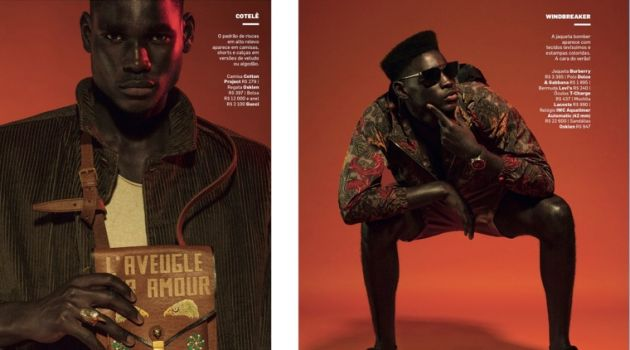 Nabillah Rocks Printed Fashions for VIP Brasil