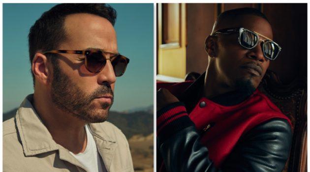 Jamie Foxx & Jeremy Piven Front New Privé Revaux Sunglasses Campaign
