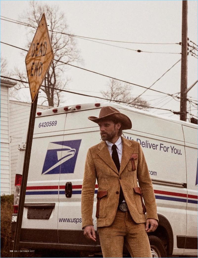Asphalt Cowboy: RJ Rogenski for GQ Germany