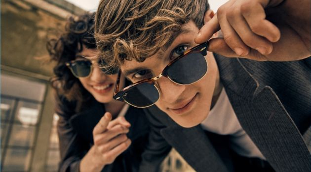 d5a1cadb20 Ray-Ban Revisits 80s Classic with Reloaded Clubmaster Collection