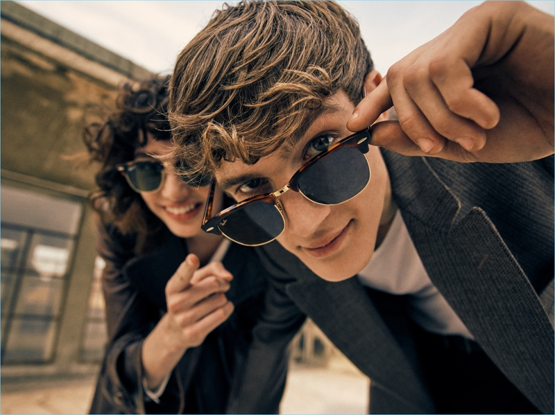 f43effda40 Ray-Ban revisits its Clubmaster sunglasses with an 80s-inspired style.