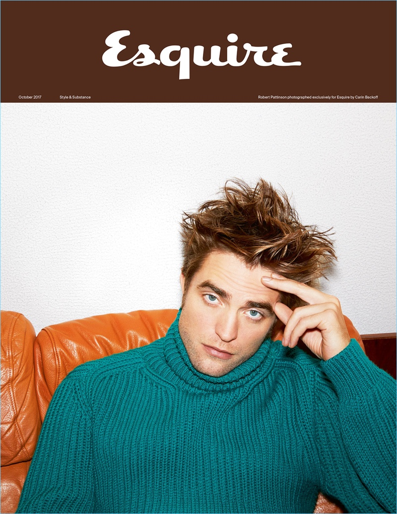 Esquire UK taps Robert Pattinson to cover its October 2017 issue.