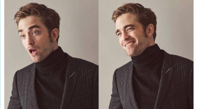 Showing a sense of humor, Robert Pattinson dons Dior Homme.