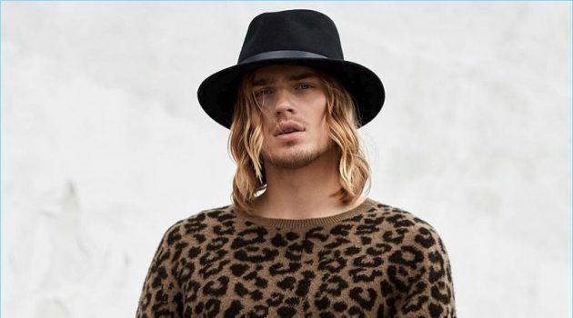 Ton Heukels Leopard Mens Sweater Simons