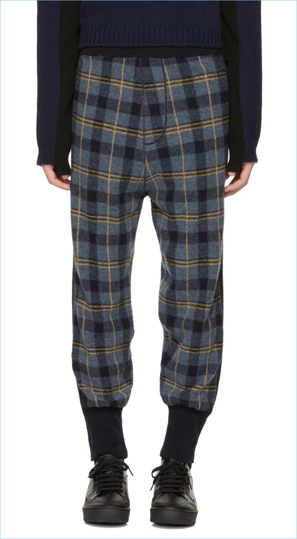 Stella McCartney Fall/Winter 2017 Check/Plaid Menswear | The Fashionisto