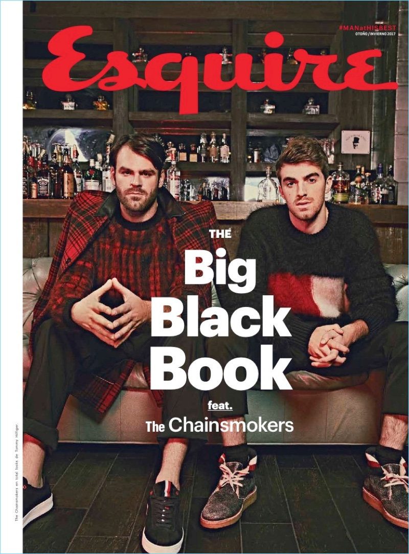 Sporting Tommy Hilfiger, The Chainsmokers connect with Esquire Latin America.
