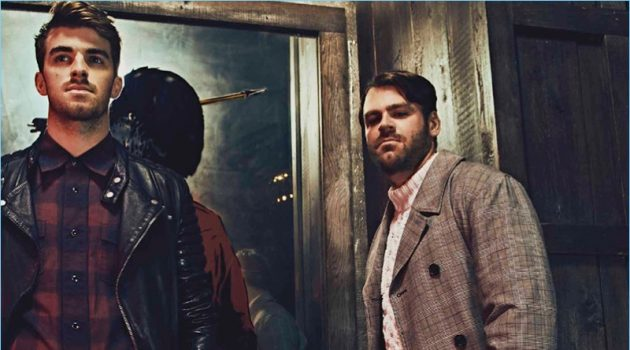 The Chainsmokers Rock Fall Styles for Esquire Latin America