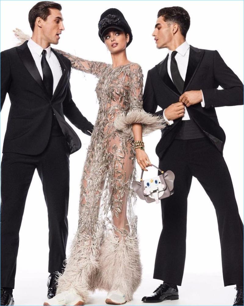 Jhonattan Burjack, Nikolai Danielsen & Jonathan Bellini Join Taylor Hill for Vogue Japan