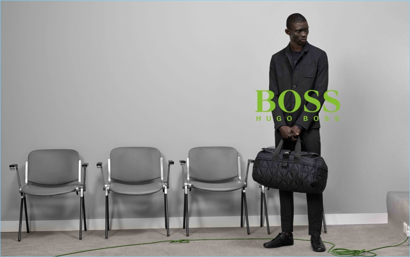 Fernando Cabral fronts BOSS Green's fall-winter 2017 campaign.