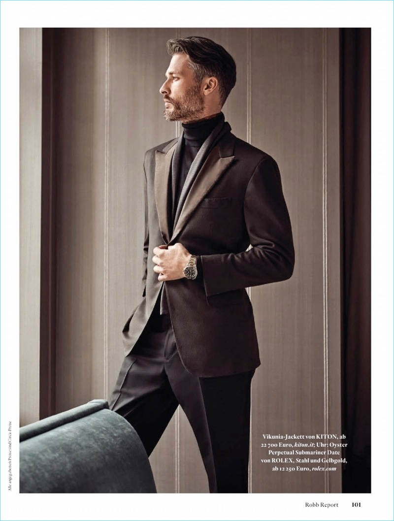Ben Hill Heads Downtown with Robb Report Germany