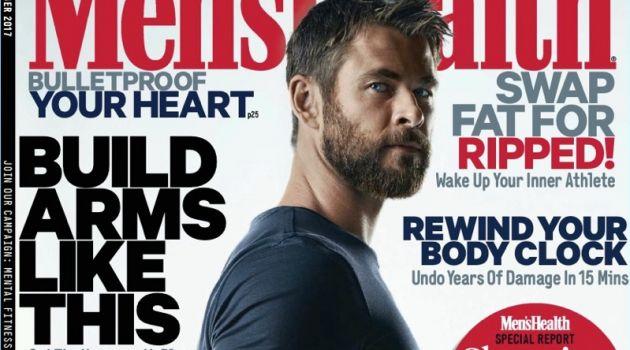 Chris Hemsworth Men's Health UK November 2017 Cover