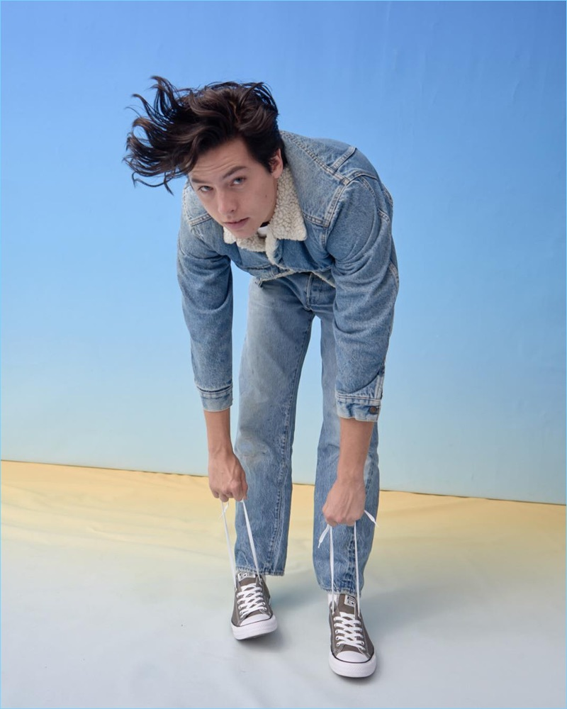 Cole Sprouse fronts a new campaign for Converse.