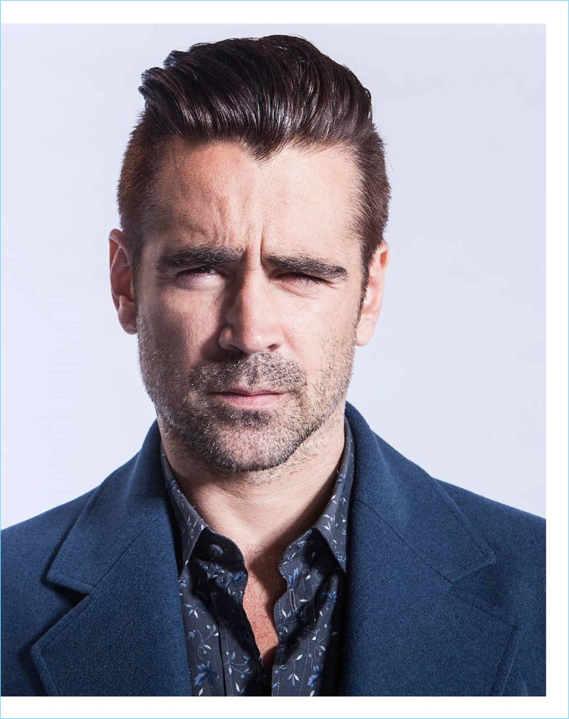 Actor Colin Farrell appears in a cover feature for Men's Style Australia.