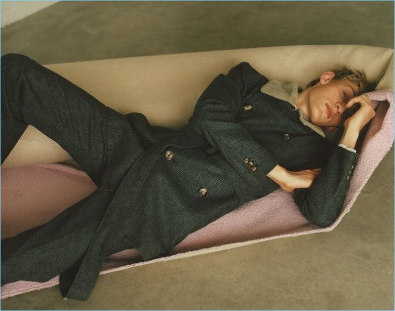 Process of Hibernation: Dylan Moran for Woolmark