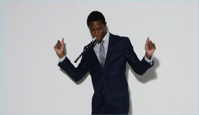 Express celebrates the holidays in style with Hamid Onifade.