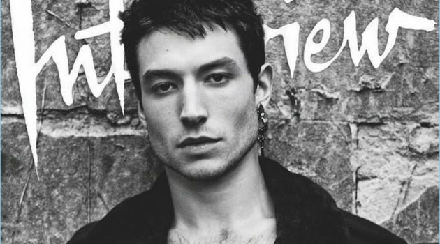Ezra Miller Interview Magazine Cover November 2017