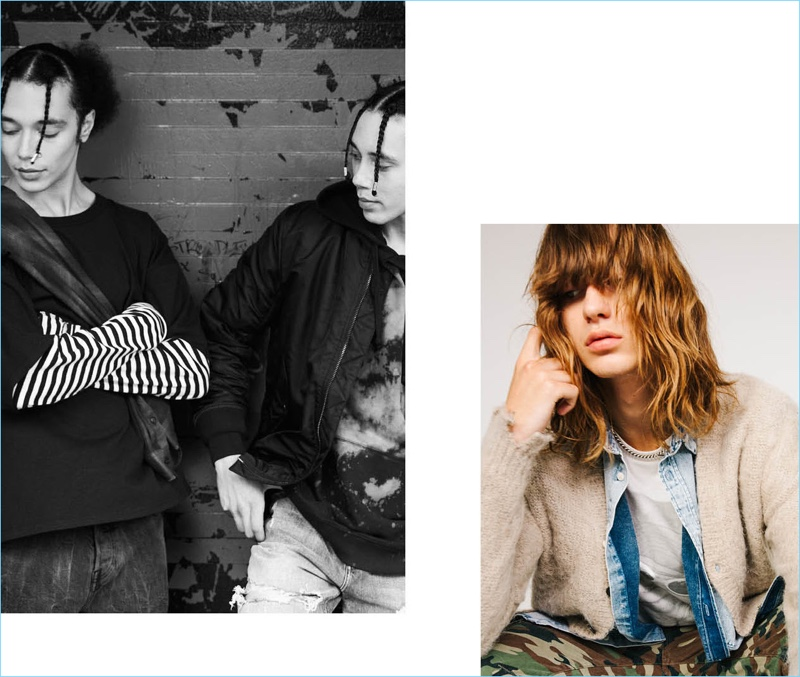 H&M Divided inspires with a grunge-inspired men's outing.
