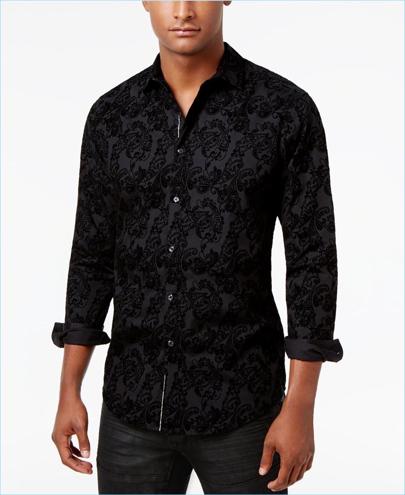 INC Paisley Shirt