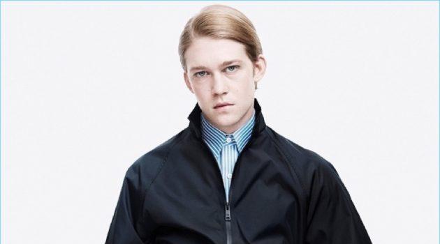 Joe Alwyn fronts Prada's spring-summer 2018 men's campaign.