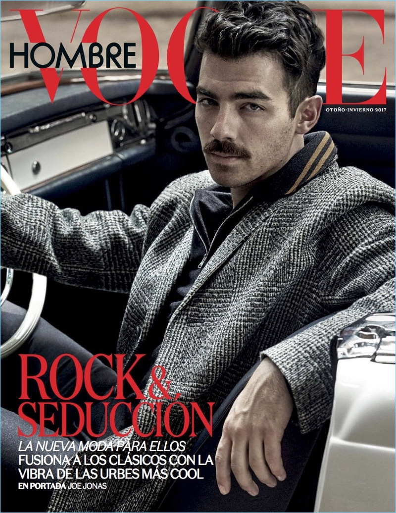 Joe Jonas | Vogue Hombre | 2017 Cover Photo Shoot