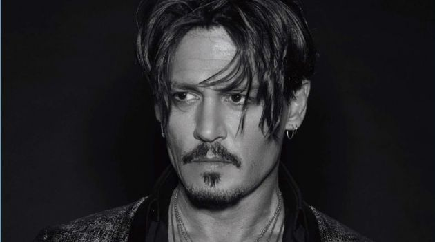 Numéro Homme profiles Johnny Depp for its fall 2017 issue.